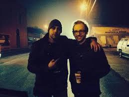 Writer/Director John Fallon and VFX supervisor Thomas Johnson.