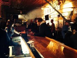Shooting the bar scene with Michael Pare and Lauren Alexandra!