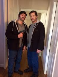 Writer/Director John Fallon also acting as Michael Pare's stunt double.